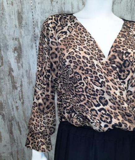 immagine 3 di Blusa camicia animalier chiara bruni