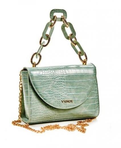 immagine 2 di Borsa evening Verde Fashion