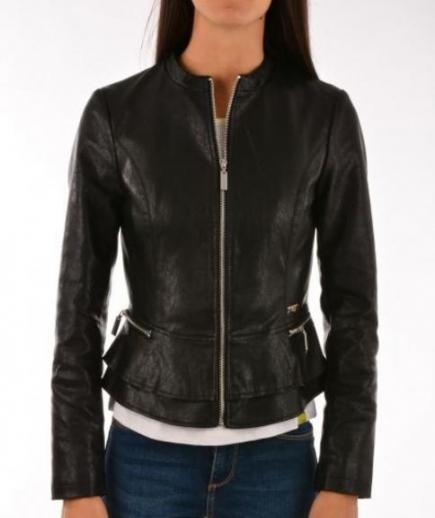 immagine 0 di Giubbino ecopelle della gaudì jeans in ecopelle.