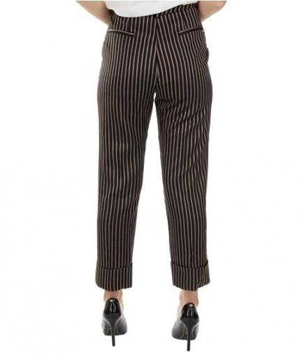 immagine 1 di Pantalone Donna Righe Gaudì Fashion