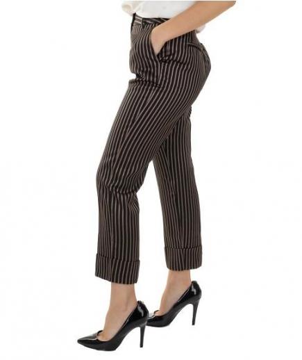 immagine 2 di Pantalone Donna Righe Gaudì Fashion