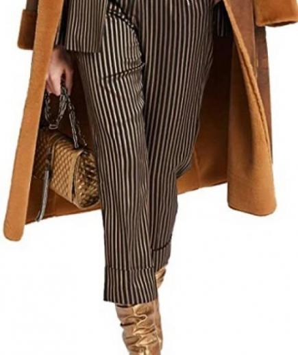 immagine 3 di Pantalone Donna Righe Gaudì Fashion