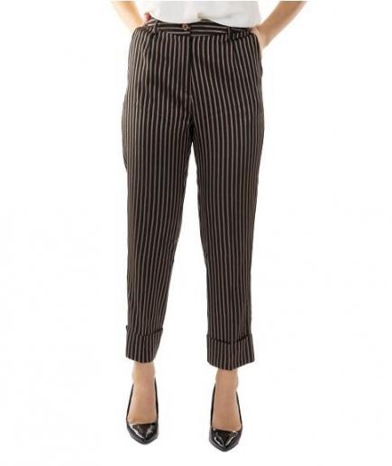 immagine 0 di Pantalone Donna Righe Gaudì Fashion